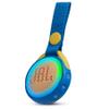 Parlante JBL JR POP Bluetooth, sumergible y con iluminación de colores - Azul al mejor precio solo en loi