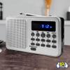 Radio AM/FM Kolke KPR 364 con Batería Recargable al mejor precio solo en loi