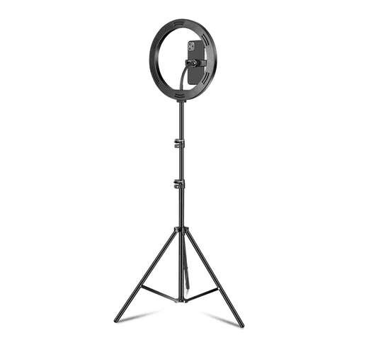 Aro de luz LED Kolke con trípode y control de iluminación al mejor precio solo en loi