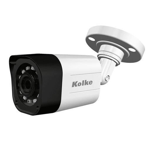 Kit de Seguridad Kolke 4 cámaras Bullet + XVR con 8 canales FHD al mejor precio solo en loi