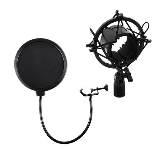 Kit de estudio Philco Incluye micrófono, brazo articulado y filtro anti pop - Azul al mejor precio solo en loi