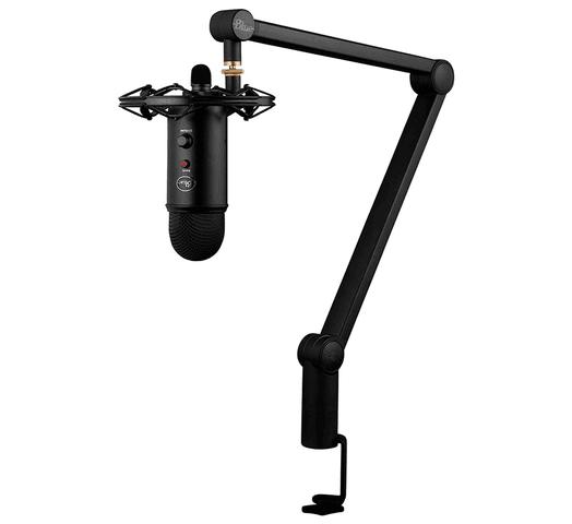 Micrófono Profesional Blue YetiCaster + Soporte Radius III + Brazo Articulado Compass al mejor precio solo en loi