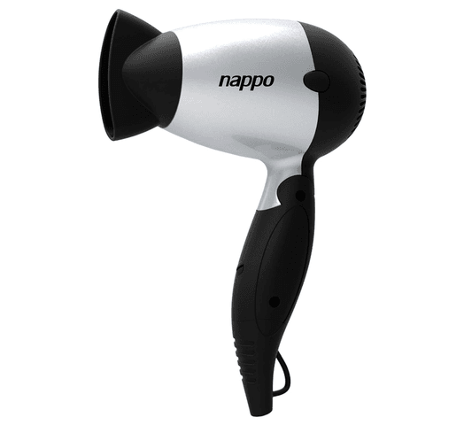 Secador de Pelo Plegable Nappo con 1500W de Potencia, 2 Velocidades al mejor precio solo en loi