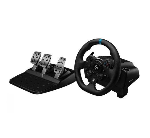 Volante Logitech G923 Con pedalera, compatible con PS4 y PC al mejor precio solo en loi