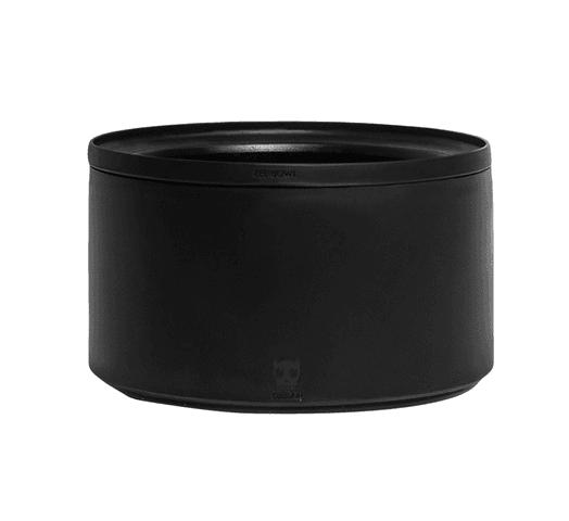 Zee Dog Zee Bowl Apto para Microondas con Altura Ajustable - Negro al mejor precio solo en loi