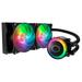 Refrigeración líquida Cooler Master, Masterliquid ML240R, con iluminación RGB al mejor precio solo en loi